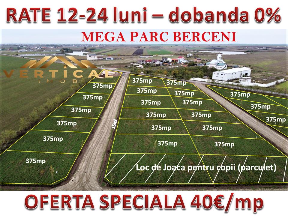 Vanzare teren in Rate Mega Parc Berceni